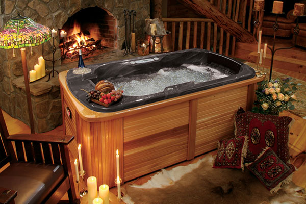 The Perfect Couple S Hot Tub Thermospas Hot Tubs