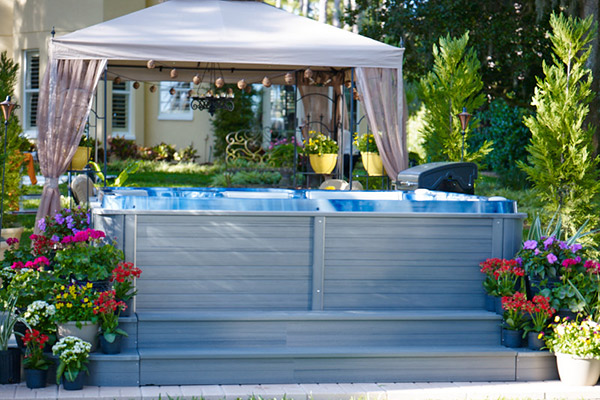 what to do with your hot tub while on vacation