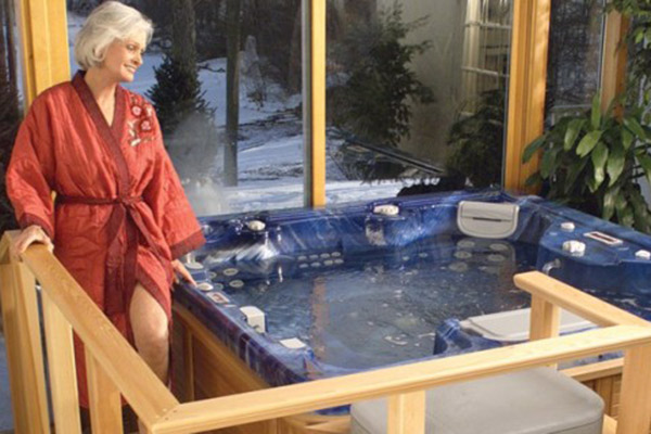hot tub joint pain